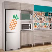 Foto Adesivo abacaxi para geladeira