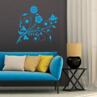 Foto Adesivo arabesco flores